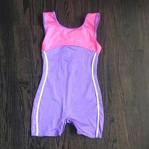 Dance/Gymnastics Leotard Pink/Purple -Size 10/12